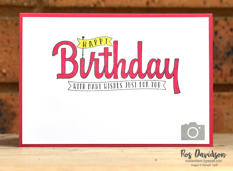 Stampin up, colour creations, blog hop, color coach, colour coach, camera card, envelope punch board, broadway bound speciality designer series paper, big shot, layering circles framelits, lovely lipstick, broadway birthday, birthday wishes for you, timeless textures, labeler alphabet