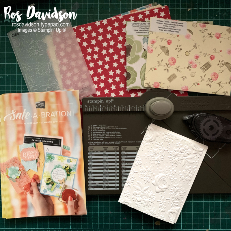 Catalogue mail out, saleabration, stampin up