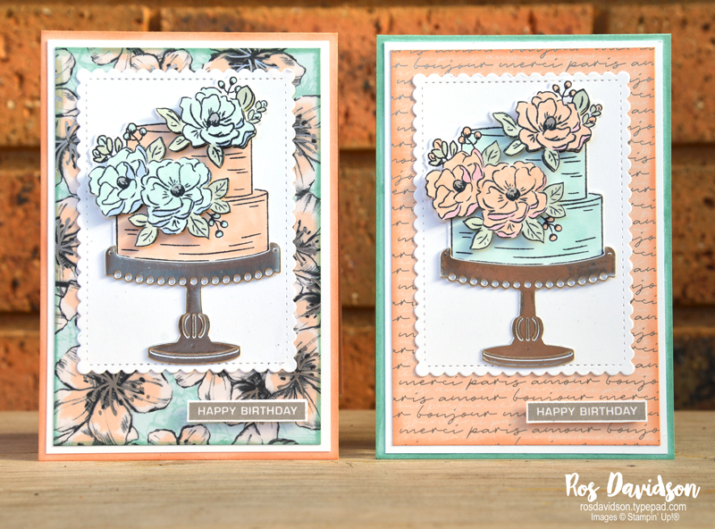 Stampin' Up!, sale-a-bration, saleabration, happy birthday to you, birthday dies, stampin' blends, same same but different