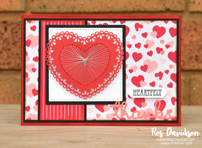 Stampin' Up!, techniques class, faux stitching, stitching, doilies, dressed to impress bundle, well said, from my heart speciality DSP, stitched shapes dies, stitched label dies, heart doilies, layering square dies, well written dies