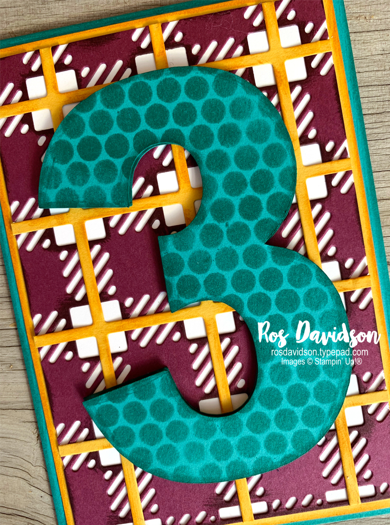 Stampin' Up, Colour Creations, Color Creations, Blog Hop, bermuda bay, mask, stencil, happiest of birthdays stamp set, best plaid builder die