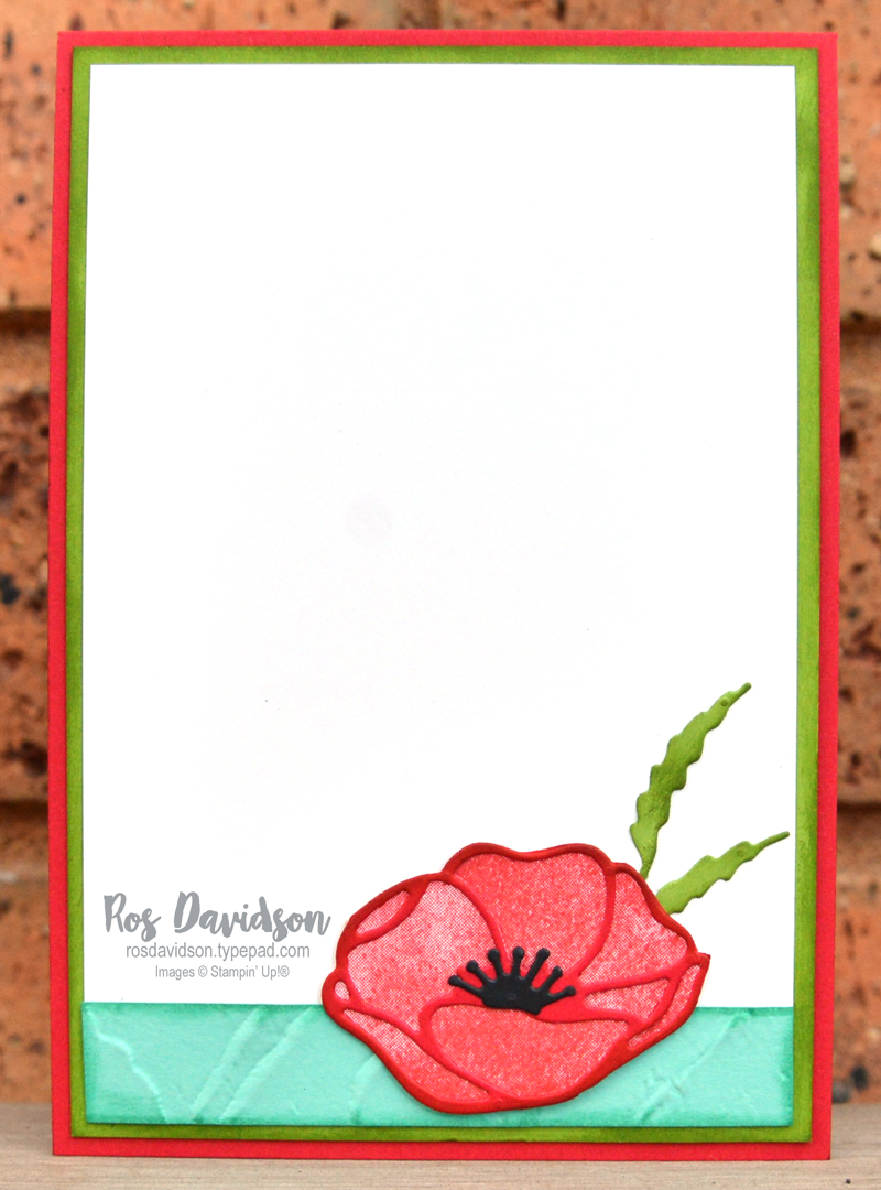 Poppy Moments Stampin Up