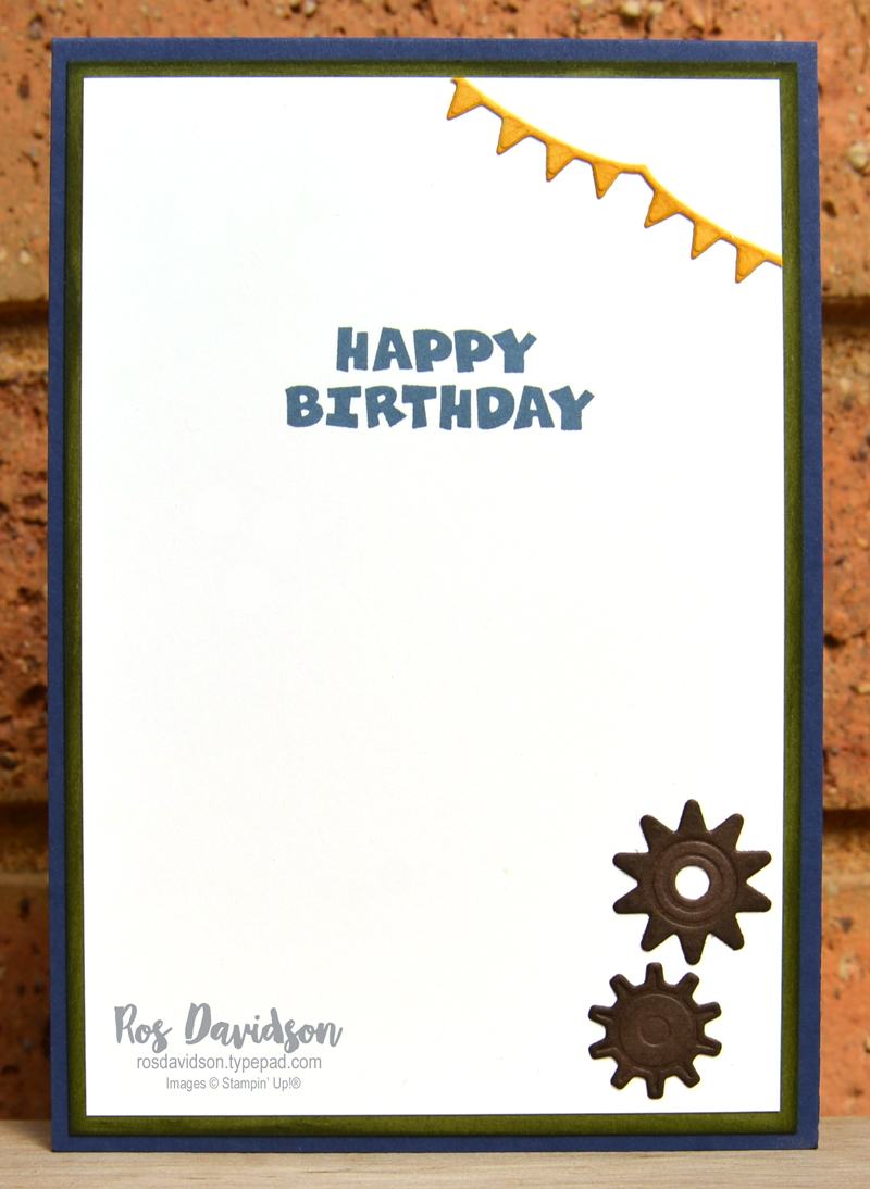 A grand kid Stampin Up