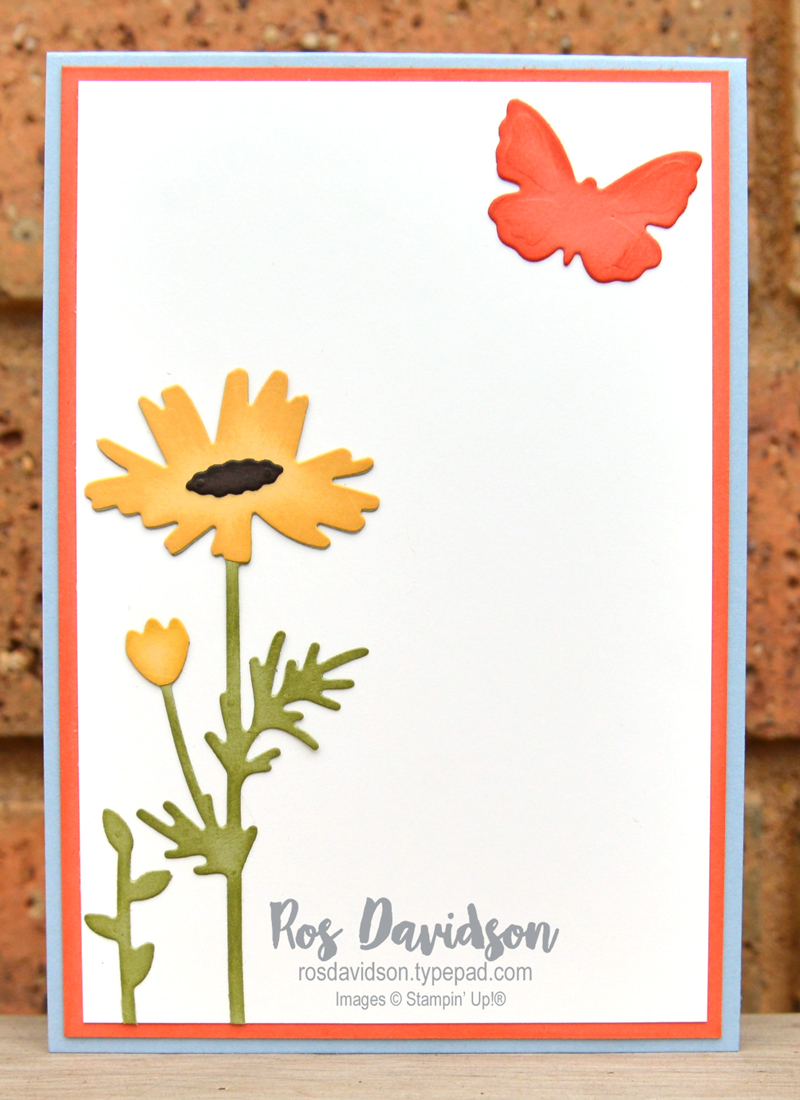 Meadow dies Stampin Up