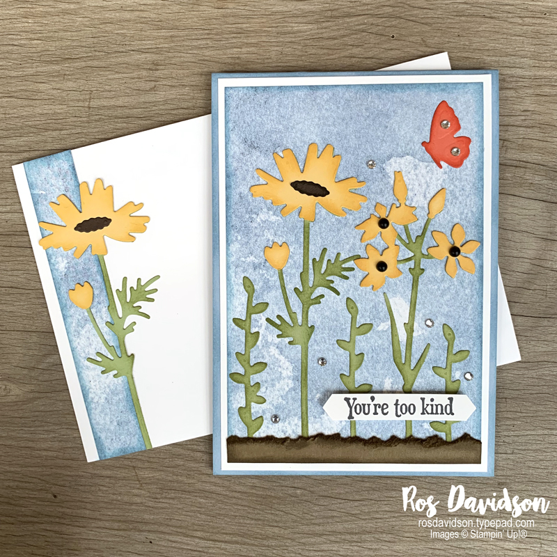 Quiet meadow bundle Stampin Up
