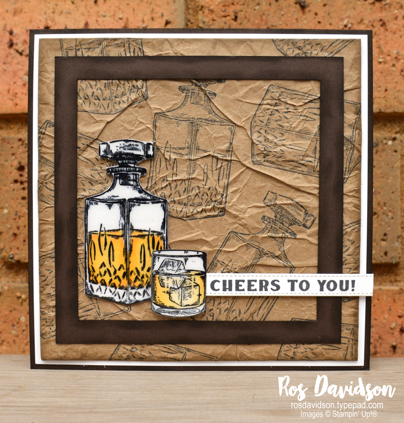 Whiskey business Stampin' Up!