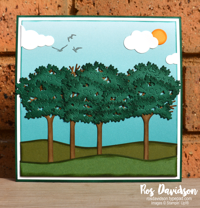 Inspiring canopy dies Stampin' Up!