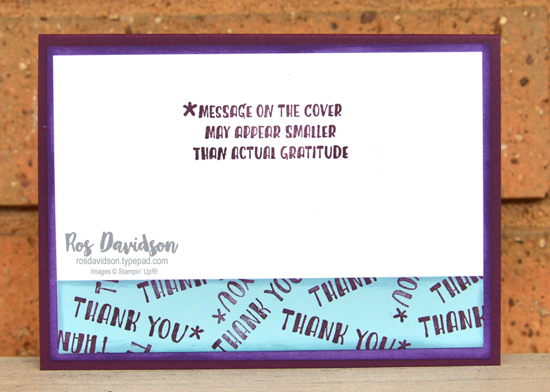 Stampin' Up, Colour Creations, Color Creations, Blog Hop, blackberry bliss, direct to rubber, massive thanks stamp set, best plaid builder dies, stitched so sweetly dies, stitched rectangle dies