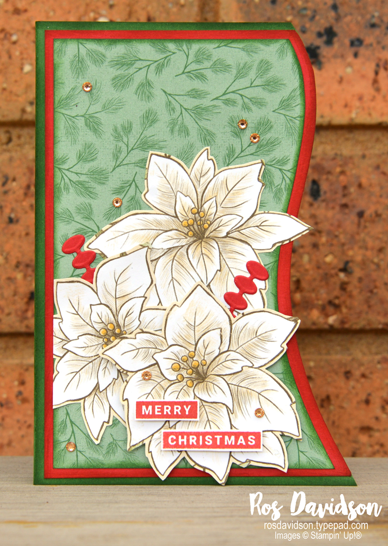 2020 creation and a blog post recap of all my favourite creations for the year by Ros Davidson, Stampin' Up! demonstrator Melbourne Australia.
