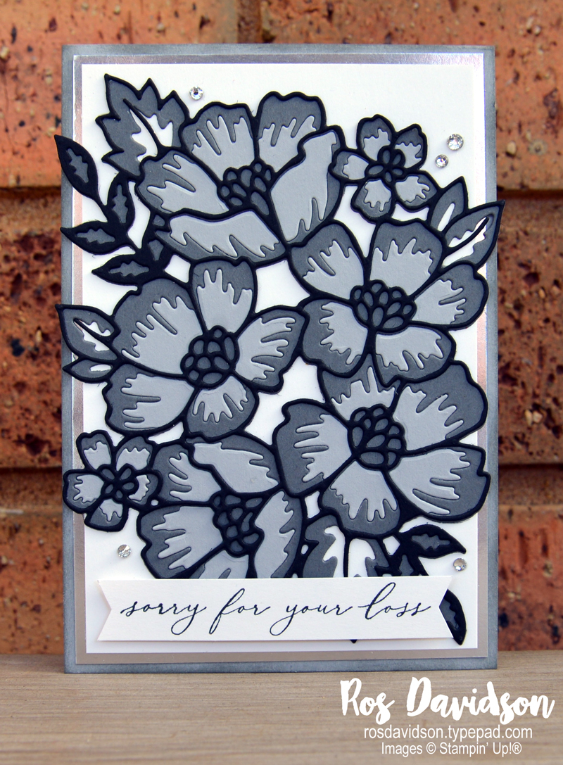 Heal your heart sympathy card Stampin Up