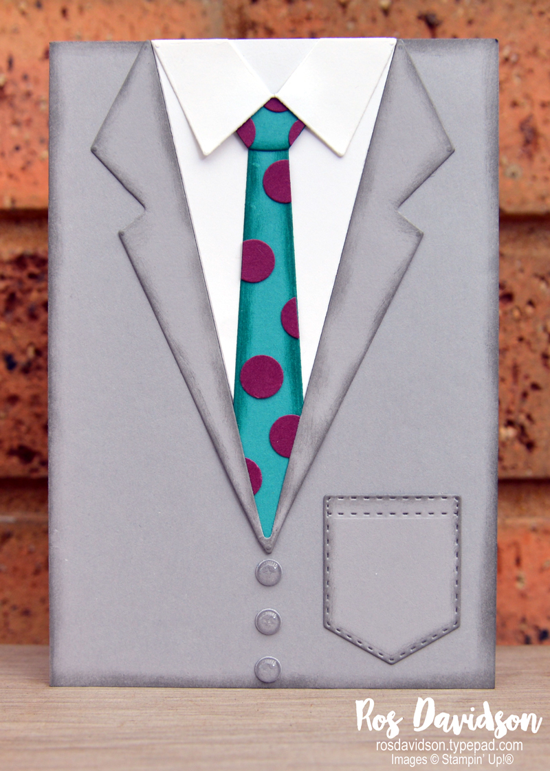 Suit and Tie Dies Stampin' Up!
