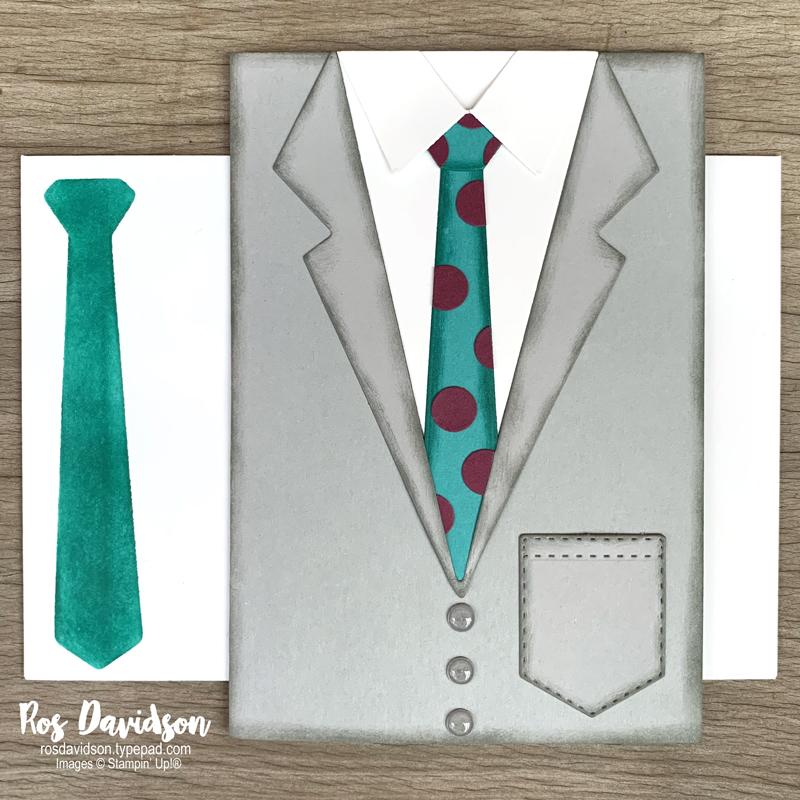 Suit and Tie Dies Stampin' Up!