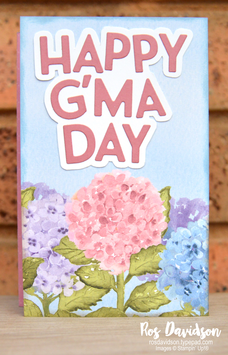 Hydrangea Hill Suite Stampin' Up!