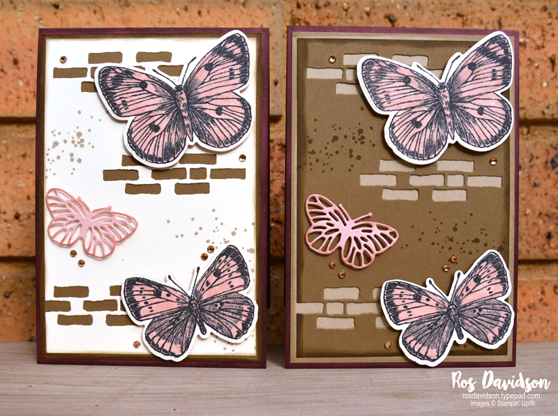 Butterfly brilliance Stampin' Up!