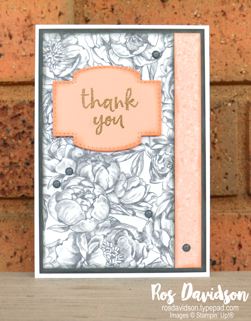 Stampin' Up!, world card making day, thank you cards, peony garden designer series paper, massive thanks stamp set, a grand kid stamp set, happiest of birthdays stamp set, faux resin dots, heat embossing, stitched so sweetly dies, #worldcardsendingweek2020, #SU2020WCMD