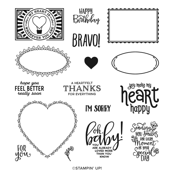 Punch party stamp set salabeation freebie Stampin Up