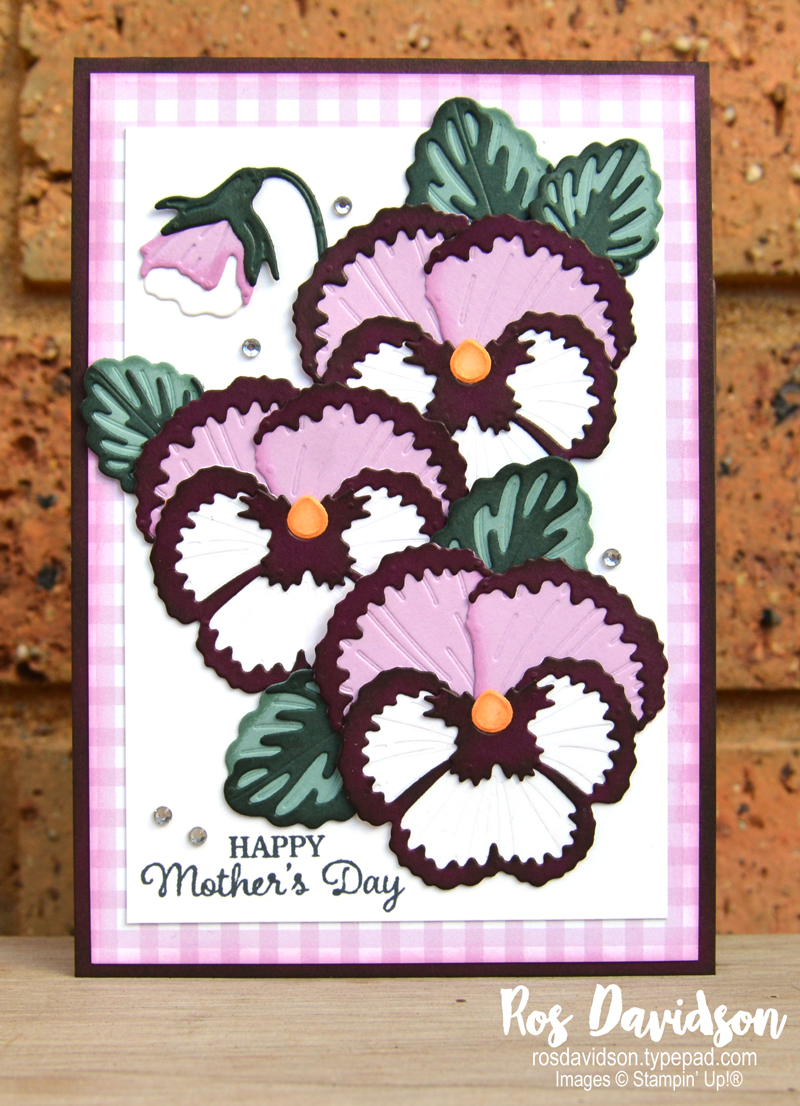 Pansy Petals Suite Stampin' Up!