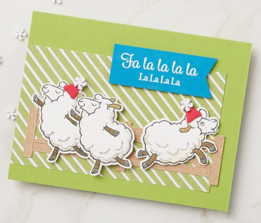 Stampin' Up! | Counting Sheep Christmas Card | Sale-a-bration 2021