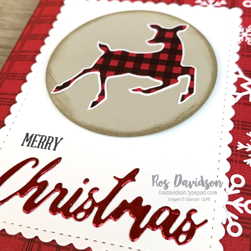 Stampin' Up! | Peaceful Prints DSP | No cut DSP card | Sale-a-bration 2021 | card by Ros Davidson, Stampin' Up! demonstrator Melbourne Australia