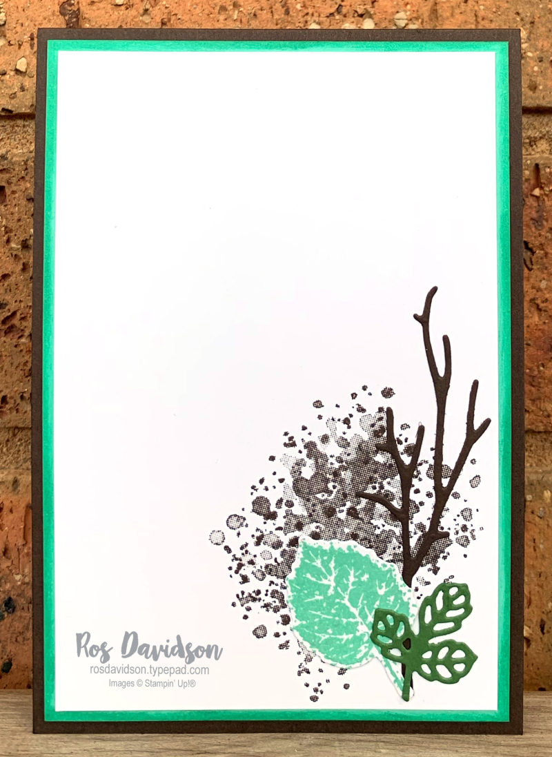 Stampin' Up! | Gorgeous Leaves Bundle | For you card | card by Ros Davidson, Stampin' Up! demonstrator Melbourne Australia